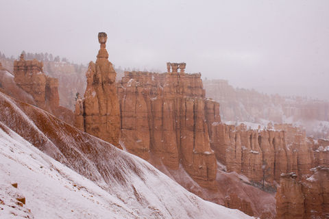 Thor's Hammer Snowstorm